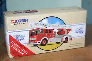 CORGI CLASSICS 1:50 AEC TURNTABLE FIRE ENGINE - NZ FIRE BRIGADE 97361