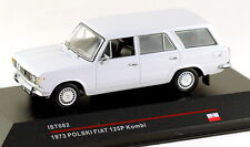 1/43 scale IST Models IST082 Polski Fiat 125P kombi 1973 light grey NIB