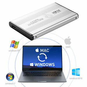For PC Laptop 1x 2.5''Portable USB 3.0 2TB External Hard Drive Disk HDD