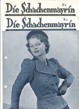 Schachenmayr Die Schachenmayrin 3 / 38 1938  kpl. 1405 1406 1407 1408 1409