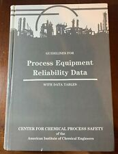 Guidelines for Process Equipment Reliability Data, with Data Tables
