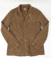 Hartford Womens Janis Corduroy Blazer Jacket Brown L New