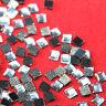 80 Strass thermocollant carré 3x3 mm (hotfix) cristal A+ qualité Bling
