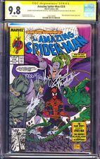 Amazing Spider-Man 319 CGC SS 9.8 Stan Lee Todd McFarlane Michelinie Venom NM
