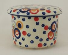 Bunzlauer Keramik Butterdose M136-CHDK Hermetic mit Wasserkühlung französisch