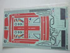 Tamiya sticker bag for 58158 Fiat Abarth 1000 TCR Berlina Corsa (1425424)