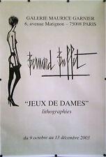 Original 1990's Bernard Buffet JOY OF WOMEN Poster - Galerie Maurice Garnier