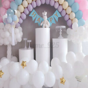 3PCS Wedding Cylinder Plinth Pedestal Cake Dessert Flower Display Stand 50/55/60