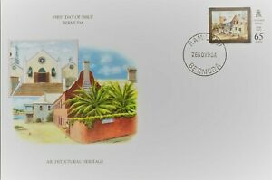 Nice lot of 3 clean unaddressed FDC's from Bermuda - check out the scans Lot883