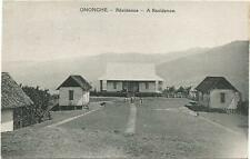 Papua New Guinea, Ononghe, A Residence, Old Postcard