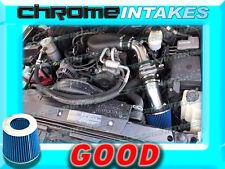 BLACK BLUE 96-05 CHEVY S10/ZR2/ZR5/BLAZER/SONOMA/JIMMY 4.3 V6 COLD AIR INTAKE