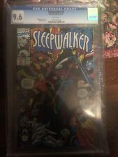 Sleepwalker #3 CGC 9.6 1991 Marvel