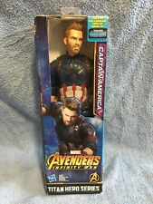 Avengers Infinity War Titan Hero Series Captain America with Power FX Port - NEW