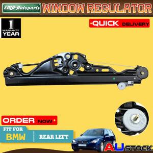 For BMW E60 E61 520i 523i 530i M5 Rear Left Power Window Regulator Without Motor
