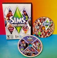 The Sims 3 Deluxe Video Game PC Complete 2010 Ambitions Expansion Pack - NO KEY