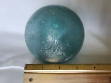 "Lot Of 2 Vintage Japanese Glass Fishing Floats, Each 3 3/4""."
