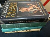 Lot Of 4 Victoria Holt Books Inc. Shadow Lynx, Queens Confession, Pride Peacock