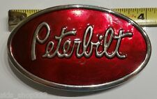 Classic Peterbilt logo metal Belt Buckle Beautiful gift Peterbilt motors