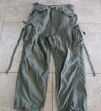 VTG US Army Military Korean War Era M-1951 Trousers/Pants Shell Field Med Reg