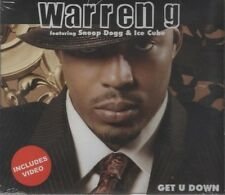 WARREN G feat SNOOP DOGG & ICE CUBE  Get U down 2 TRACK CD  NEW - STILL SEALED