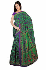 mousseline Bollywood Carnaval SARI ORIENT INDE fo438