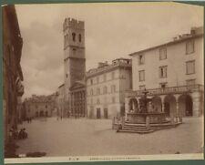 ASSISI (Perugia). Fotografia originale fine 1800.