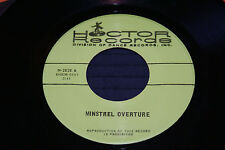 """HOCTOR RECORDS 7"""" 45 SOUL JAZZ MINSTREAL OVERTURE MISSISSIPPI MUD OUT OF PRINT"""