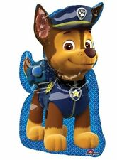 """Paw Patrol Chase Shape Foil Balloon Boys Birthday Party Decoration Supplies 31"""""""