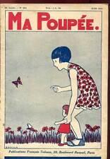MA POUPEE 26è ANNEE N°283. JUIN 1932 + SUPPLEMENT.