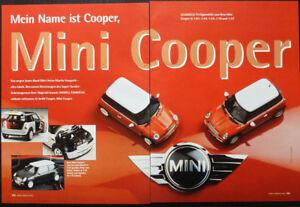 SAMMELN ..MODELLE vom NEW MINI COOPER..... ein Modellbericht   #2002