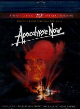 NEW BLU RAY DOUBLE FEATURE - Apocalypse Now + Apocalypse Now: Redux - Marlon Bra
