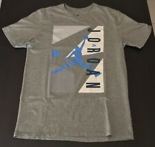 Nike Air Jordan   T-shirt - Grey  - Large L