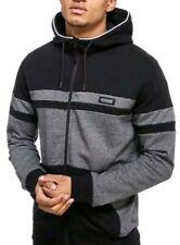 Activewear Hoodies & Sweatshirts Mckenzie Zip Up Hoody Jacket Black Mens Underlined Size Xl Un