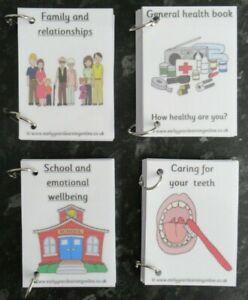 **Story Books** designed for School Nurse*individual books*Home*School*Dentist