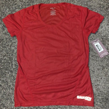 Saucony Womens FELICITEE Short Sleeve Performance Tee - Red - 55507S - Szs XS-S