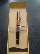 penna roller da collezione pelikan R650 nera e oro 24K  FUORI PRODUZIONE