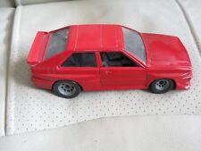 Audi Quattro Polistil rouge  1/24   SN29   12/81 bon état