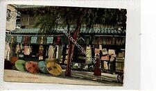 (Ga1457-425) Umbrella Shop, YOKOHAMA, Japan 1907 Used G-VG