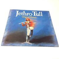 Jethro Tull 'Original Masters' UK 1985 Vinyl LP VG+/VG+ Very Clean Copy!