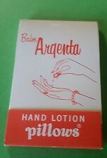 1957 UNION PACIFIC RR  PACKET OF 5 UNUSED HAND LOTION PILLOWS WITH INSTRUCTIONS