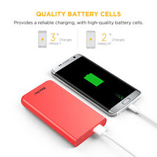Easyacc 10000 mAh Ultra Slim Power Bank External Battery Charger Universal