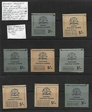 Kenya KUT Stamp Collection 1966-67 Postage Booklets Intact. SG Cat: £80+