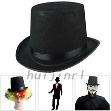 "6.3"" Adult Tall Stain Bell Top Hat Fancy Dress Victory Ringmaster Magician Hat"