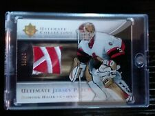 05-06 Dominik Hasek Ultimate Collection Jersey Patch 17/75 SICK LOGO