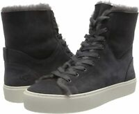 UGG Women's Beven Sneaker, Dark Grey, Size 8.5 aw98