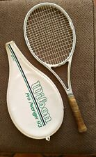 Wilson Pro Avenger Mid 93 Graphite Tennis  Racquet Grip Size 4 5/8 with cover