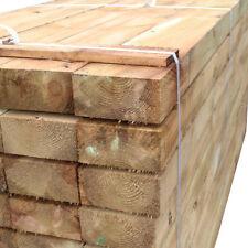 Timber Sleepers 2.4m 4 Pack Railway Sleeper 100x200mm Tanalised Treated Softwood