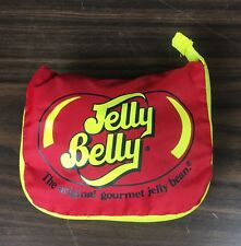 Jelly Belly Stowable Beach Bag Tote Pocket Folding Nylon Red