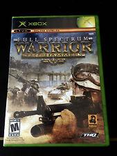 Full Spectrum Warrior Ten Hammers(Xbox)  Complete !!