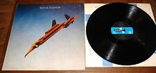 BUDGIE ~ SQUAWK ~ UK MCA BLUE BLACK HEXAGON STEREO LP 1ST PRESS IL IL